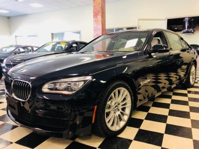 2015 BMW 7-Series 4dr Sdn 750Li xDrive AWD (Azurite Black Metallic)
