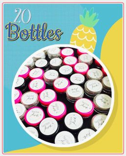 20 Bottles - Acrylic Nail Powder