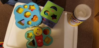 Shapes and containers lot & ball lots