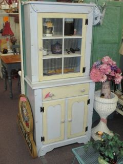 Vintage Country Kitchen Hutch At Twice As Nice Flea Market Booth # 605