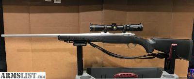 For Sale: Spectacular Stainless Ruger M77 Hawkeye, 35 Whelen, Leupold 2-7 VX-R, Nosler Custom Ammo For ????