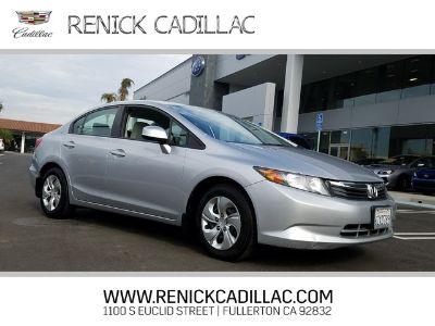 2012 Honda Civic Natural Gas (SILVER)