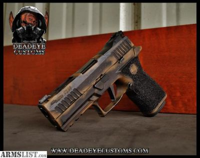 For Sale: Sig Sauer P320 X-Carry Customized