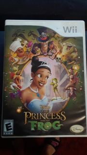 Princess and Frog for Wii