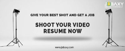 How to do a Video Resume – In 3 minutes	with Jobaxy