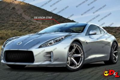 Sell Visor Strip Precut Window Tint Kit motorcycle in Parkville, Maryland, United States, for US $9.95
