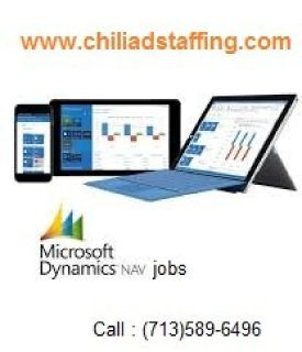 Microsoft Dynamic Nav Jobs Houston