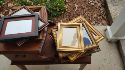 Picture frame lot/ sizes 5x7 8x10