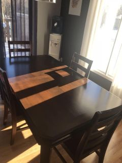 Dining table and Chairs. MOVING SALE