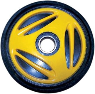 Purchase Parts Unlimited Colored Idler Wheel Yellow 165mm (No Insert) 4702-0034 motorcycle in Loudon, Tennessee, United States, for US $24.95