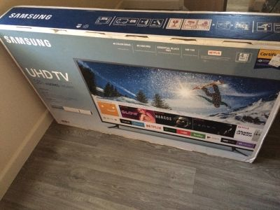 Brand new 58 inch Samsung 4K UHD smart TV