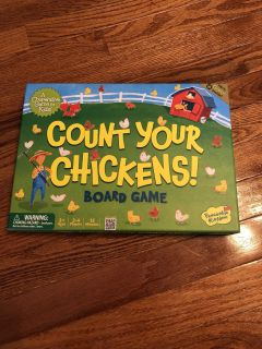 Count Your Chickens board game in EXCELLENT condition! Has all pieces!