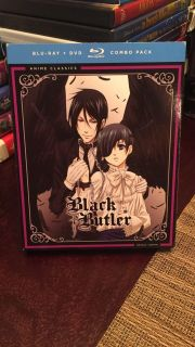 Black Butler complete first season on Blu-ray