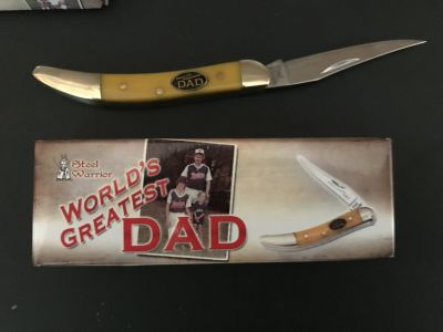 Pocket Knives for Fathers Day or Dads Birthday
