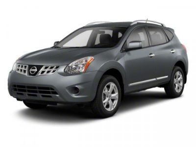 2013 Nissan Rogue S (Black)