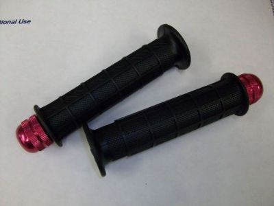 Find GENUINE OEM HONDA ATC 250R GRIPS 1983-1986 ATC250R + RED EMGO BAR ENDS WEIGHTS motorcycle in Ellington, Connecticut, United States, for US $34.00
