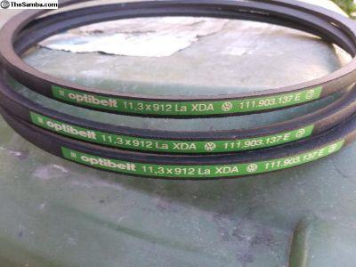 Original Factory NOS Belt With Part Number