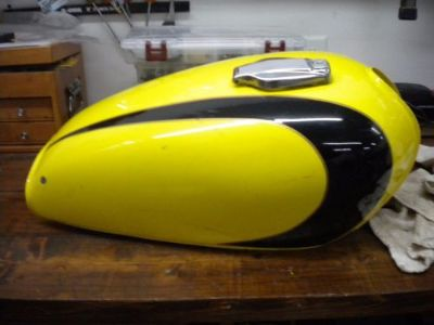 Purchase Yamaha Xs650 Gas Tank OEM USED cap and no key motorcycle in Whitwell, Tennessee, United States, for US $75.00