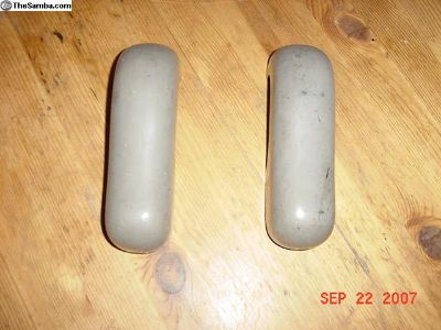 2 NOS Euro Standard Bumper Guards 53-55