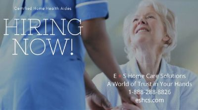 Employment Opportunity: Hiring Home Health Aides in Parts of New Jersey. Offering HHA Classes.