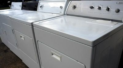 Washer Dryer and Refrigerator Units