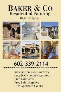 Baker and Co. Residential and Commercial Painting