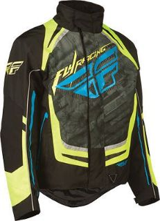 Purchase FLY Racing SNX Pro Snowmobile Jacket Hi-Vis motorcycle in Holland, Michigan, United States, for US $197.96
