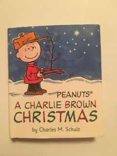 very small hardcover Charlie Brown book