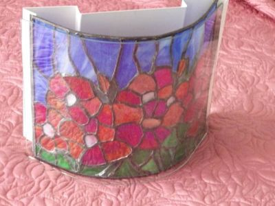 Stained Glass Sconce