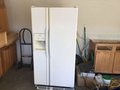 Whirlpool fridge and smooth top stove