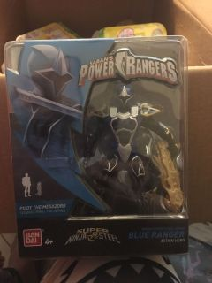 Power ranger blue ranger super ninja steel. New