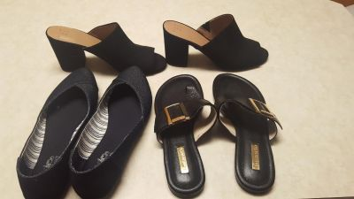 Lot of size 7.5 women's shoes
