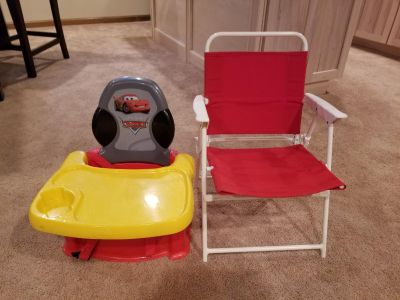 Cars booster seat and folding seat