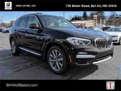 New 2019 BMW X3 Sports Activity Vehicle