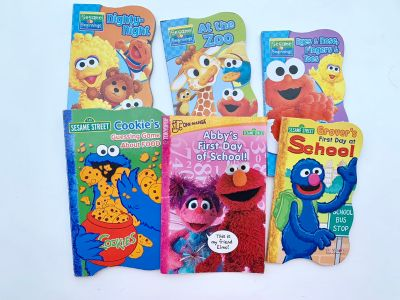 Sesame Street Board Book Lot