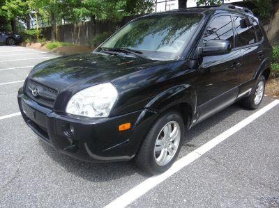 2007 Hyundai Tucson SE (Black)