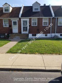 Single-family home Rental - 916 E 27th St