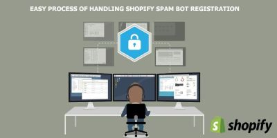 Easy Process of Handling Shopify Spam Bot Registration