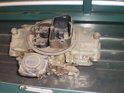 Holley 3310-3 750 4 Barrel Carburetor Vacuum Secondary HOT ROD Dual Line STREET LIST 3310-3 #0619