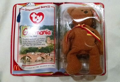 Germania Collectors Edition Beanie Baby