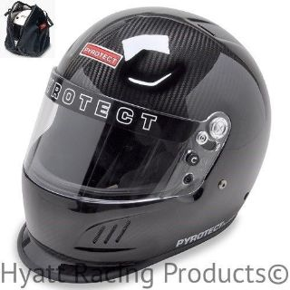 Purchase Pyrotect SA2015 Pro Airflow Duckbill Racing Helmet - All Sizes / Carbon Fiber motorcycle in Bend, Oregon, United States, for US $849.00
