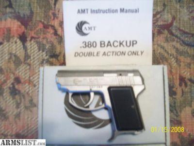 For Sale/Trade: AMT 380 backup
