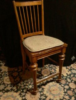 Set of 3 Vintage Counter Height Highback Chairs from Havertys