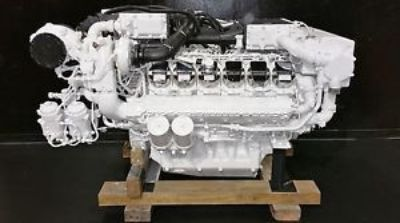 Purchase MAN V12-1550 Marine Diesel Engine motorcycle in Fort Lauderdale, Florida, United States, for US $99,950.00