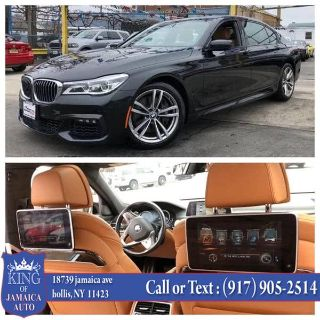 2016 BMW 7-Series 4dr Sdn 750i xDrive AWD (Black)