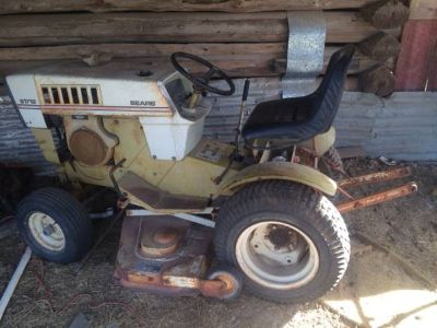 Nice old Yard Tractor with implements