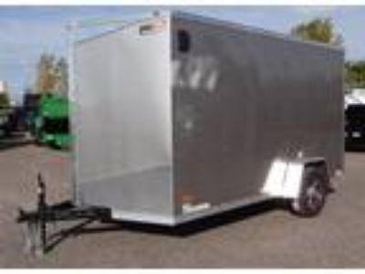 "2019 RC Trailers 7x12SA Enclosed 6'6"" Int Cargo - Pewter"