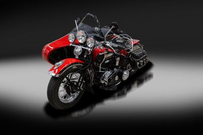 1947 Harley-Davidson FL knucklehead w/ 1945 Harley-Davidson