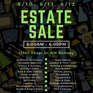Estate Sale - House, Garage, Shed + Woodworking Shop