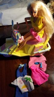 Barbie on a Scooter